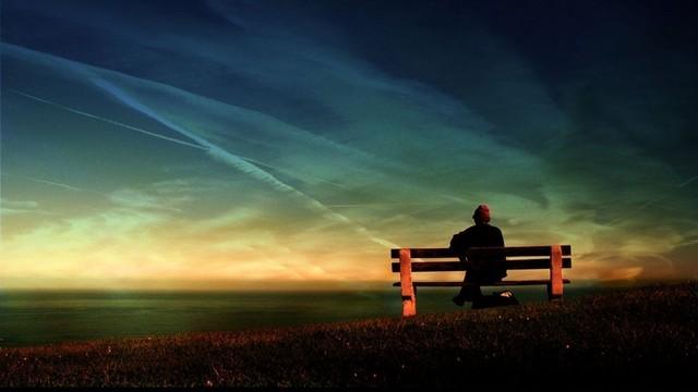 不是孤独,只是习惯了